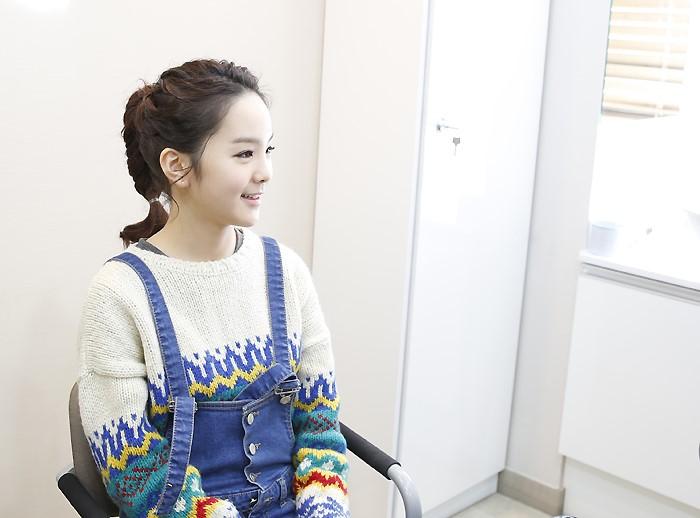 국악소녀 송소희, 슈퍼스타피부과에 방문하다...